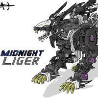 Midnight Liger zoid by aarontheos