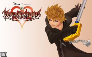 Roxas battle Days by UxianXIII