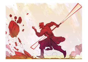 Darth Maul by Nezart
