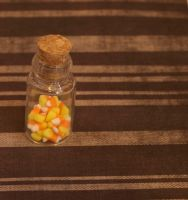 Itty Bitty Candy Corn by DeliciousTrickery