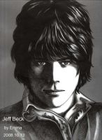 My Rock Star drawing-Jeff Beck by beckpage