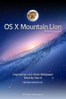 OS X Mountain Lion Wallpaper by Dee-A