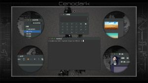 Cennodark preview by vinceliuice