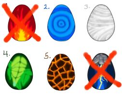 Forces of Nature Egg Adopts - 4/6 OPEN by PewterKat