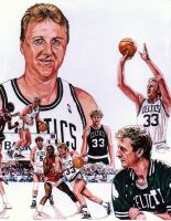Larry Bird by coachp42