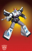 G-1 cartoon Prowl by Dan-the-artguy