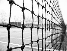 Tennis Court by mandeax