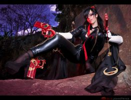 Let's Rock Baby! Bayonetta by MoonFoxUltima