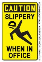 Slippery Obama Sign by Conservatoons