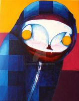 The Blue Hood by Marmotic