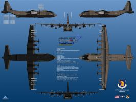Lockheed MC-130M-30 - All doors are open! by haryopanji