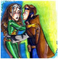 Rogue and Gambit by bachel60