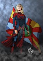 Supergirl - Smallville 11 - Commission by khriztian