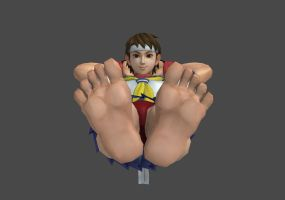 Sakura's Feet by 1994semaj