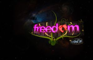 Freedom festival Logo by vozzz