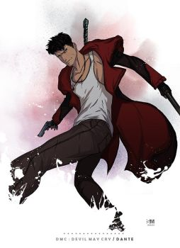 DmC Devil May Cry - Dante by BrokenNoah
