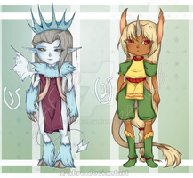 [Adoptables] Random adopts 3 [Closed] by Z-afiro