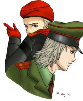 Raikov and Ocelot 3 by Major-Makarov