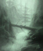 Environment Speed Paint thing by ArtByRiana
