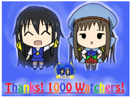1000 Watcher Achievement! by RJAce1014