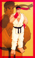 Ryu by leomon32