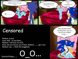 Sondash comic fragment 2 struggle for bed by kaiamurosesei