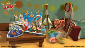 LOZ: Skyward Sword - Link's Room by seancantrell