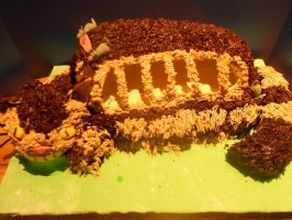 Catbus cake by MomIsMean