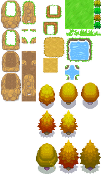 Shining Grove - Tileset Mix by Phyromatical