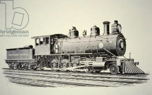 Northern Pacific Number 10,000 by GundamMech101