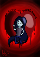 Marceline the Vampire Queen by Abhimantra2207
