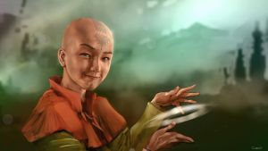 Avatar Aang by DarrenGeers