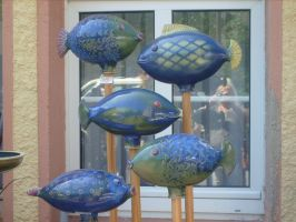 fish pottery by ingeline-art