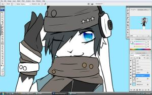 WIP_A New Face - Update by littleYoukai