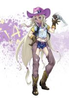 Cowgirl IA by redeyehare