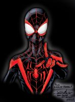Ultimate Spider-Man bust - Pascal Verhoef colors by SpiderGuile