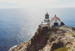 at  Point Reyes Lighthouse by KarinClaessonArt