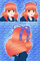 Drill Hair - WIP - for ComiPo! by Metalraptor