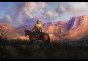 Study - American West I by ChrisDrake1987