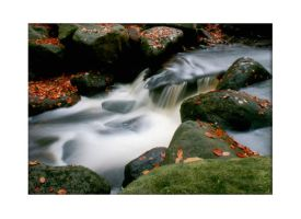 another waterfall in autumn by mzkate