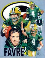 Brett Favre commission by choffman36