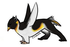 Penguin Gryphon by cudo215
