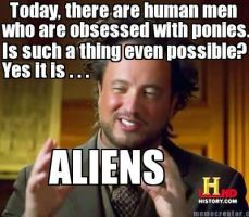 Giorgio Tsoukalos' Theory About Bronies by UncleJeff740