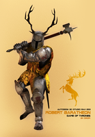 Robert Baratheon by DromCZ