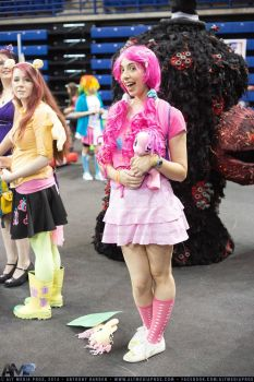 Pinkie Pie (Updated) at GeekOut 2014 by CostumePartyCosplay