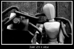 dummy with chains by Kemao