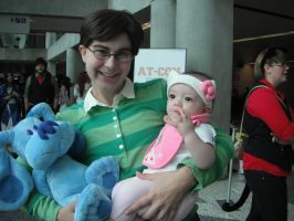 Steve From Blues Clues - Fanime 2012 - Child Care by ShellMinded