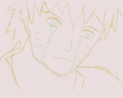 Naruto's Tears by kingofthe3lves
