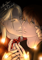 Merry Xmas from Alex and Laurelinad by Laurelinad-Hawke