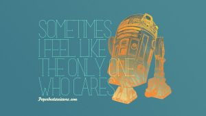 Droid Feelings: R2-D2 by paperbeatsscissors